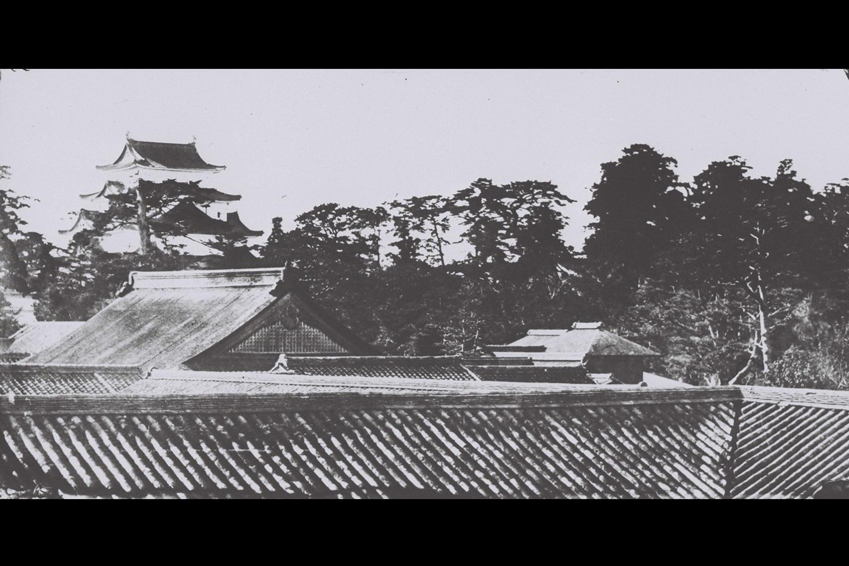 名古屋城二の丸御殿・天守写真