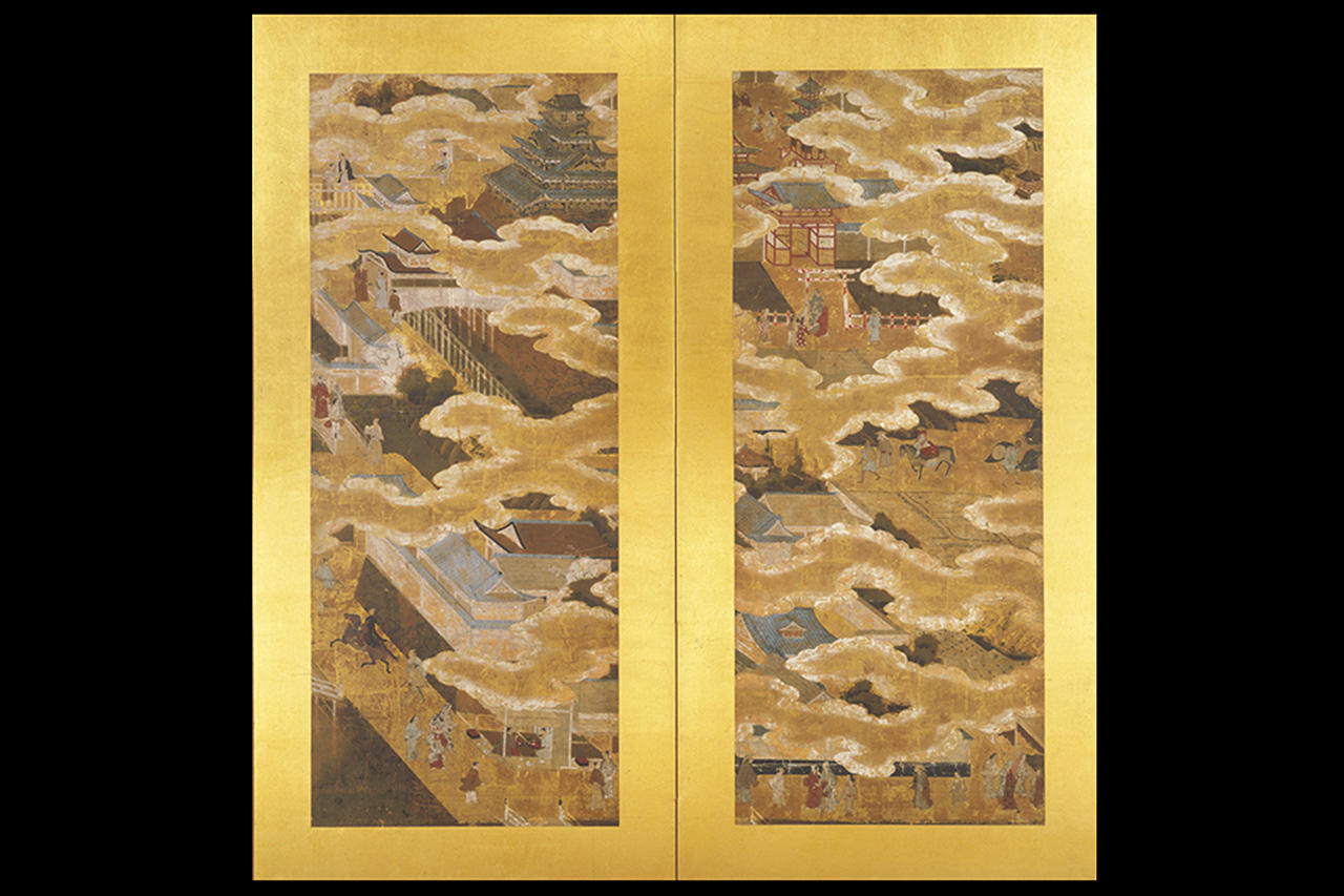 大坂城図屏風
