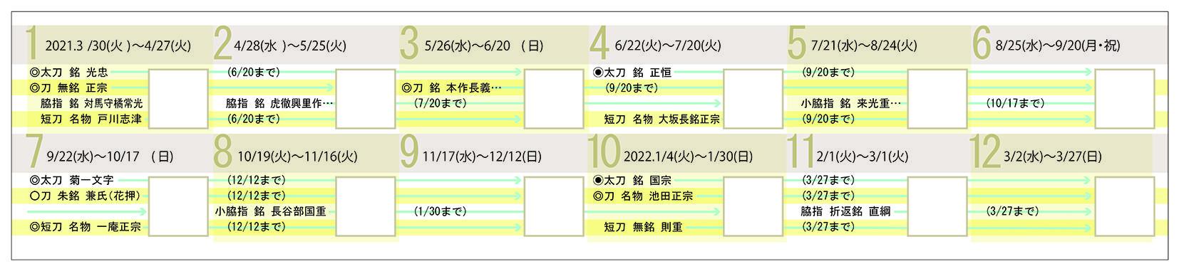 刀剣スタンプラリー年間スケジュール.jpgのサムネイル画像